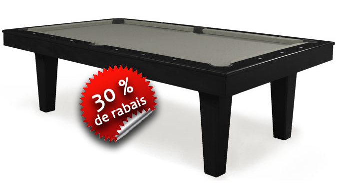 Table de Billard Majestic Charente noir