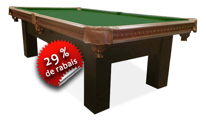 Table de Billard Majestic Moderna