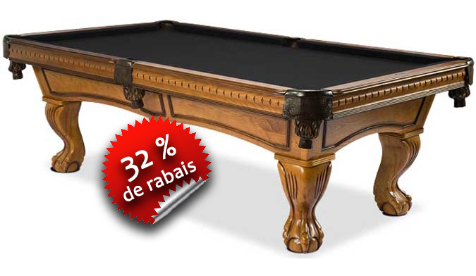 Table de Billard Majestic Pinnacle miel